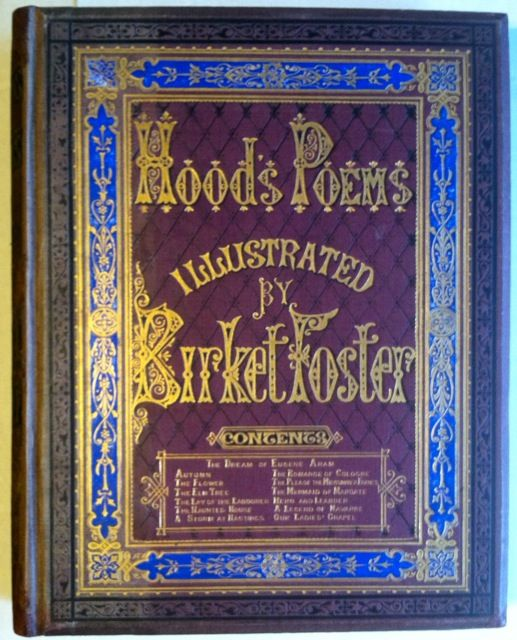 Poems of Thomas Hood. Birket Foster, Thomas Hood.