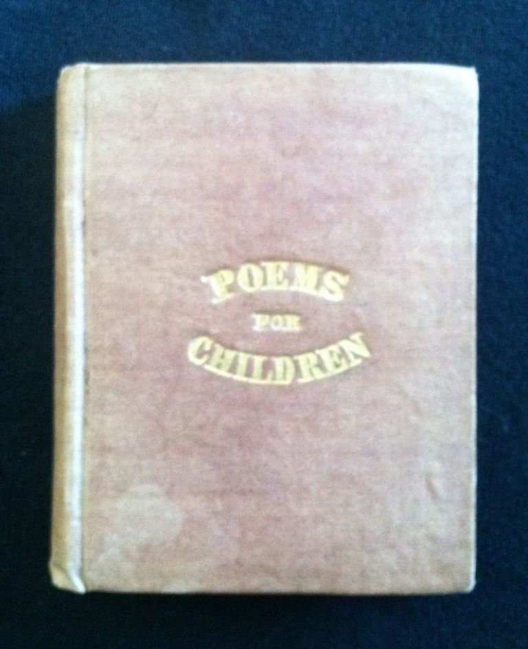 [Chapbook] Poems For Children. By a. Lady.