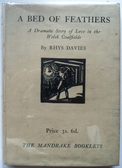 [Signed by Author] A Bed of Feathers. Rhys Davies.