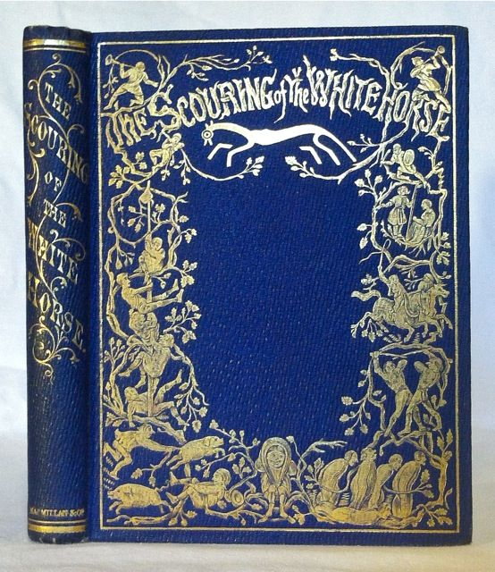 The Scouring of the White Horse. Richard Doyle, Cover Design.