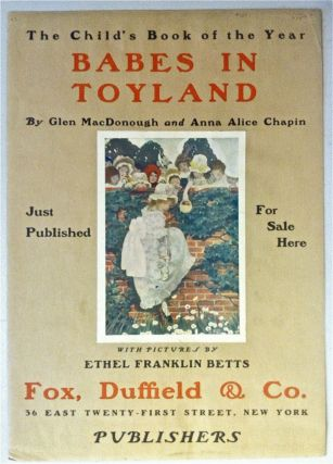 Child's Book of the Year: Babes in Toyland [Advertising Poster]. Ethyl Franklin Betts