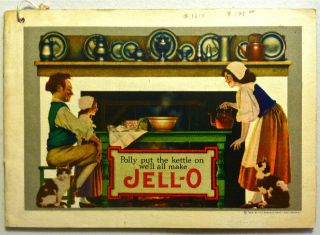 Polly Put the Kettle On, We'll All make Jell-O [Maxfield Parrish]. Maxfield Parrish