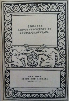 Sonnets and other Verses. Stone, Kimball