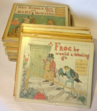 The Picture Books: A Complete Set in Individual Numbers. Randolph Caldecott