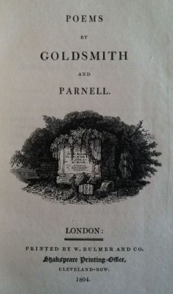 Poems by Goldsmith and Parnel
