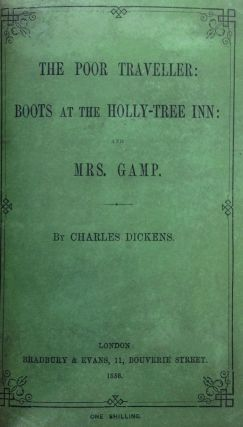 [Dickens, Charles] The Poor Traveller: Boots at the Holly-Tree Inn.