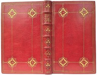 Paul et Virginie. Fine- Arts Binding, Crafts