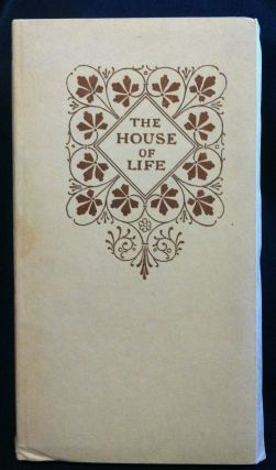 Mosher Press] The House of Life, A Sonnet-Sequence. Dante Gabriel Rossetti