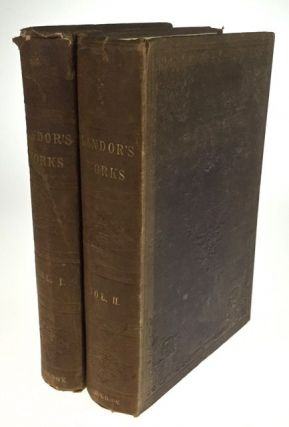 The Works of Walter Savage Landor. In Two Volumes. Walter Savage Landor