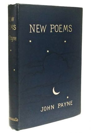 New Poems. John Payne