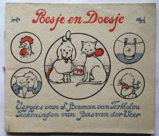 Poesje en Doesje. Juvenile/Illustrated, S. M. -van Tertholen