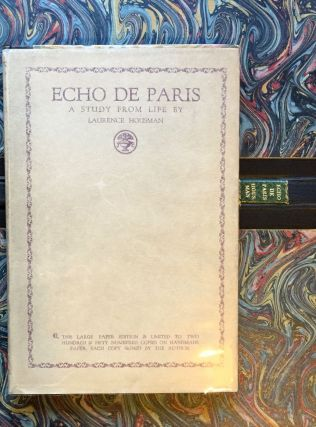 Echo de Paris, A Study From Life. Laurence Housman