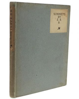 [Vale Press] Sonnets by E. B. B. Elizabeth Barrett Browning.