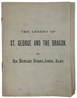 The Legend of St. George and the Dragon. Edward Burne-Jones.