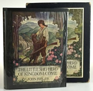 [Wyeth, N.C.- In Original Glassine and Box] Little Shepherd of Kingdom Come. John Fox.