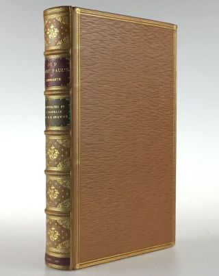 Ainsworth, William Harrison] Old Saint Paul's; A Tale of the Plague and the Fire. William...