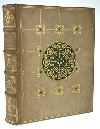 [Binding, Fine- de Sauty, Inscribed] The Vicar of Wakefield. Oliver Goldsmith.