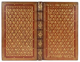 [Binding, Fine- Miss Marshall and Edith Gedye] Paolo & Francesca. Stephen Phillips.