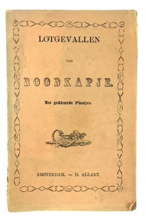 Mother Goose] Lotgevallen van Roodkapje (Adventures of Little Red Riding Hood