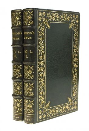 paget Binding- Florence Paget] Poems by Alfred Tennyson. Alfred Lord Tennyson
