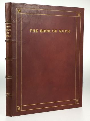 Binding, Fine- Miss C. A. L. MaCrae] The Book of Ruth. William Brown MacDougall