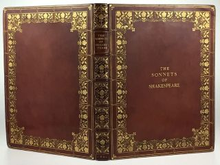 [Binding, Fine- Frank Garrett] The Sonnets of Shakespeare. William Shakespeare.