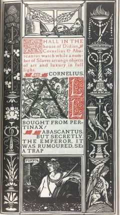 [Binding, Fine- Arts & Crafts, Vale Press] The World at Auction