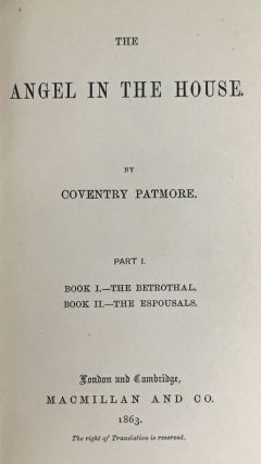 [Patmore, Coventry- Association Copy- Emily Honoria Patmore's Copy] Angel in the House