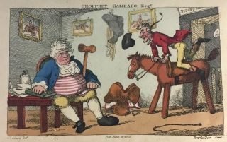 "[Rowlandson, Thomas] An Academy for Grown Horsemen Containing the Annals of Horsemanship. Geoffrey ""Gambado, "" ie. Bunbury, Henry William."