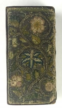 Binding, Fine- Early 17th Century Embroidered Binding] The Psalter or Psalmes of David [bound...