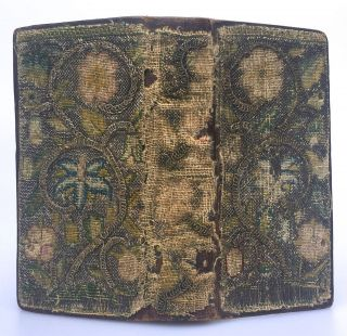 [Binding, Fine- Early 17th Century Embroidered Binding] The Psalter or Psalmes of David [bound with] The Whole Booke of Psalmes