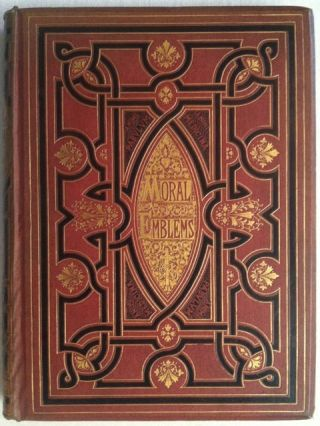 [Leighton, John ] Binding: Moral Emblems with Aphorisms, Adages and Proverbs. Jacob Cats, Robert Farlie.