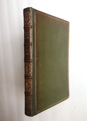 Bunner- With Holograph Poem Inscribed- Club Bindery] Airs From Arcady. H. C. Bunner
