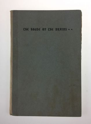 Scribner's Publishers- Scarce] The House of the Brains