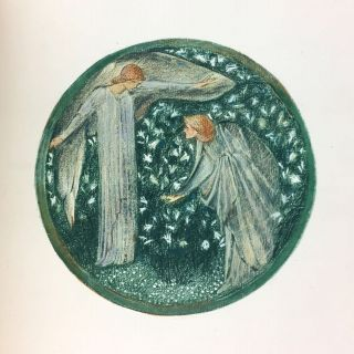 [Burne-Jones, Edward] The Flower Book. Reproductions of Thirty-Eight Watercolour Designs by Edward Burne-Jones