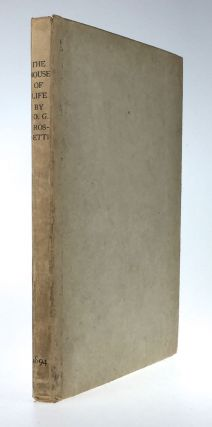 Rossetti, Dante Gabriel. House of Life- Inscribed to William Sharp. Dante Gabriel Rossetti