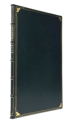 BINDING, FINE- DOVES BINDERY, T.J. COBDEN-SANDERSON] Ecce Mundus; Industrial Ideals and The Book...