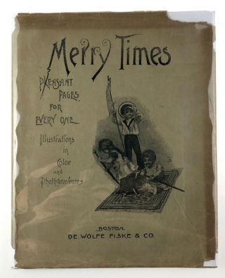 Chromolithography- Original Dust Wrapper] Merry Times