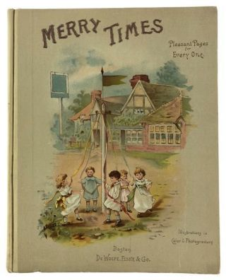 [Chromolithography- Original Dust Wrapper] Merry Times