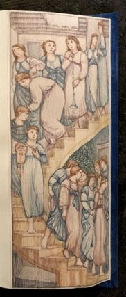 [Burne-Jones, Edward- Fore-Edge Painting] Poetical Works of John Milton. John Milton.