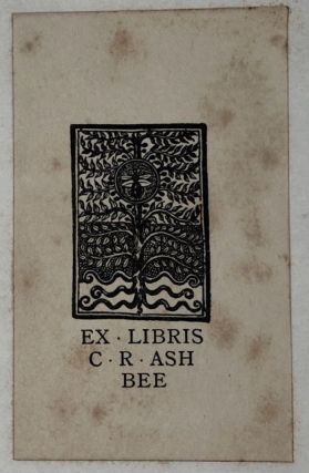 "[Vale Press- Association Copy from Author to Ashbee] Fair Rosamund- Presentation from ""The Sisters"" to C. R. Ashbee"