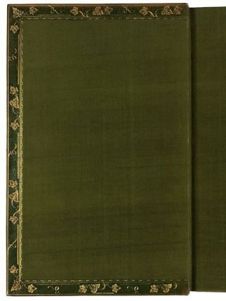 [Binding, Fine- Stunning Two-Volume Arts & Crafts by Zaehnsdorf on Vale Press] The Poems of John Keats