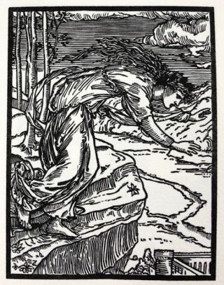 [Burne-Jones, Edward- Clover Hill Portfolio] The Story of Cupid and Psyche