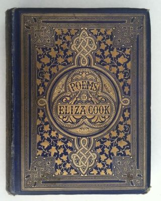 [Binding, Fine] John Leighton: Poems By Eliza Cook. Eliza Cook.