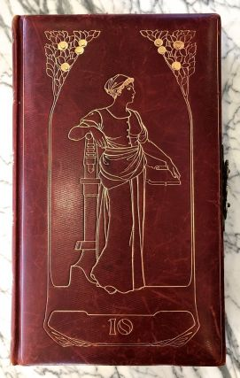 Art Nouveau Luxury Photo Album] 1904, Wertheim Department Store. Art Nouveau