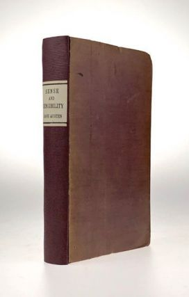 Austen, Jane- First Bentley Edition] Sense and Sensibility. Jane Austen