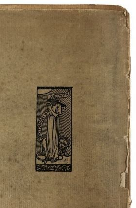 [Daniel Press Rarity- Only 100 Copies Printed] Odes and Eclogues