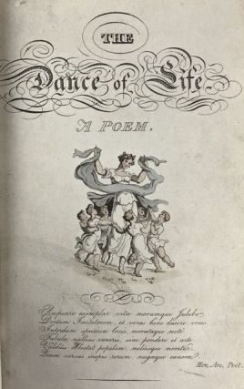 [Binding, Fine- The Hampstead Bindery] The Dance of Life, a Poem by the Author of ëDoctor Syntax