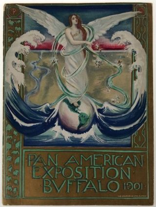 Pan American Exposition Color Booklet] Pan American Exposition Buffalo 1901