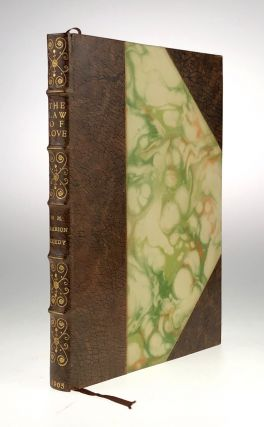 Roycroft Press- Exquisite 3/4 Levant, Attributed to Kinder] The Law of Love. William Marion Reedy